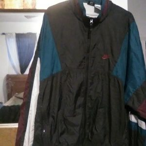 Retro 90s windbreaker jacket
